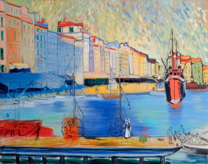 Beltracchi – Port de Toulon - Deux Fauves à Toulon, 2016